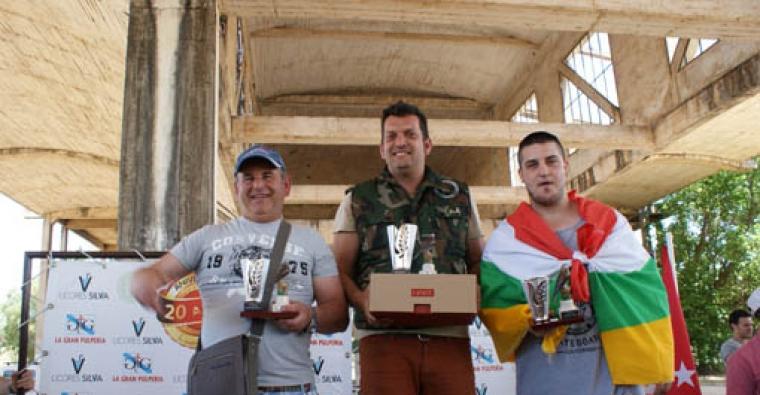 Medalla de bronce en Pardillo para Diego Muñoz Urdiales en el Campeonato de España de Silvestrismo