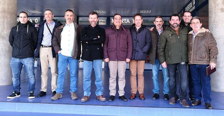 Reunión entre SEPRONA y la Federacion Riojana de Caza