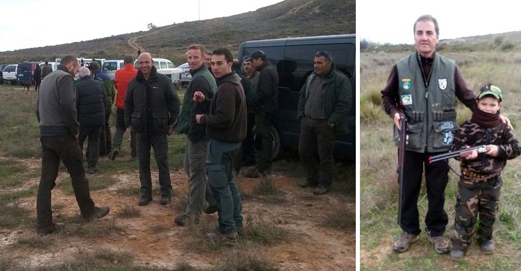 Éxito deportivo en las primeras pruebas de perros de caza celebradas este fin de semana en La Rioja