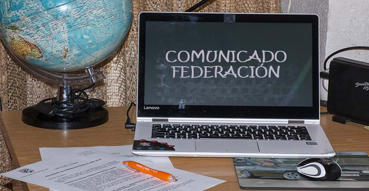 COMUNICADO FEDERACIÓN RIOJANA