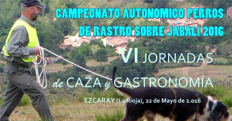 Campeonato Autonómico Perros de Rastro sobre Jabalí