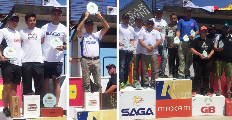 Gran triunfo de nuestros deportistas en el Cto. de España de Compak Sporting