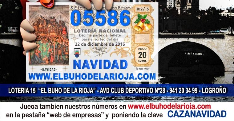 Lotería de Navidad - Federación Riojana de Caza -