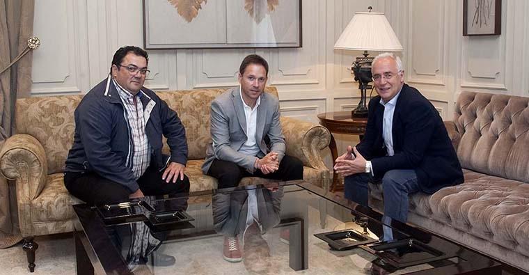 Recepción del Presidente de La Rioja con la Federación Riojana de Caza